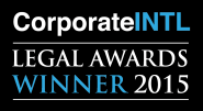 Legal Awards: Gregorj winner 2015