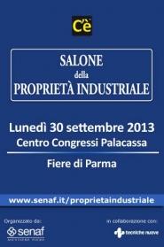 Salone della Proprieta' Industriale 2013